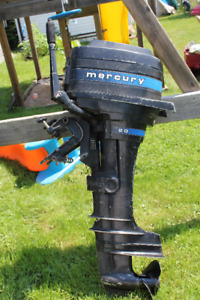 20 HP MERCURY OUTBOARD MOTOR