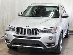 2016 BMW X3 xDrive28i AWD w/ Navigation, Leather, Panoramic Mo