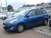 RENAULT SCENIC EXPRESSION DCI EDC 7 SEATER AUTOMATICA (blue) 2011