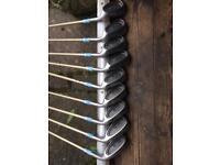 9 matching Jack Nicklaus gc1800 irons