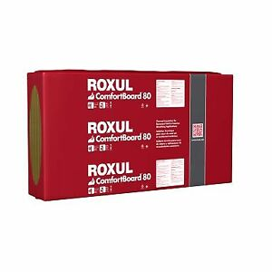 "Insulation, Roxul Comfortboard,  4'x8', 1.25"" thick"