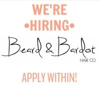 Looking for Stylists and Barbers, we want you!!