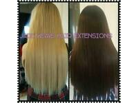 Weaves hair extensions fitted from £45