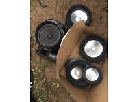 Land Rover discovery 4 harmon kardon speaker set with amp