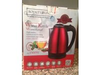 *Brand New* Red Kettle