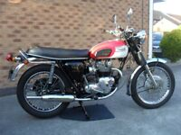 Powder Coated Frame, New Carbs & Exhaust, Matching Numbers, Original Chrome, Lots of Paperwork