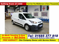 2014 - 14 - FORD TRANSIT CONNECT L210 1.5TDCI VAN (GUIDE PRICE)