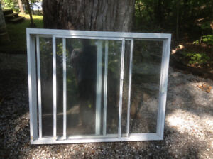 Window, aluminum, white, great condition....................