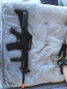 M4 air soft gun