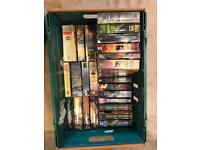 A box of pre-owned fantasy fiction