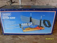 Draper Mitre saw still in its original box.