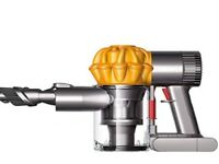 Dyson Handheld Vacuum Cleaner Yellow & Grey
