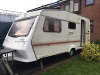 Abbey 1990, 4 berth caravan £650 o.n.o