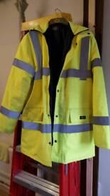 Dickies flouresent work jacket