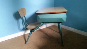 Child's desk with chair