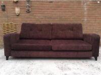 Four seater DFS sofa