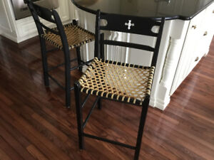 Two High Quality Bar Stools, $65.00 each