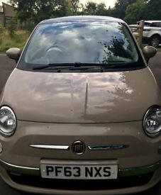 Fiat 500 (Lounge) New Age Cream Priced Low For Quick Sale!