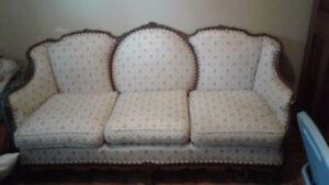 antique Victorian style couch
