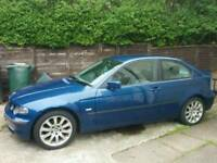 BMW 316 Compact SPARES OR REPAIR