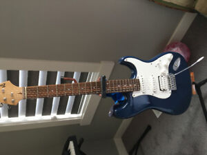 Barracuda electric guitar with amp $300 obo