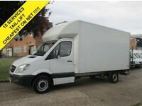 2013 63 MERCEDES-BENZ SPRINTER 2.1 313CDI LUTON BOX LWB. TAIL-LIFT. 1 OWNER