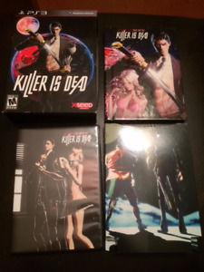 Killer is Dead Limited Edition Extras! For PS3
