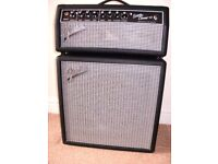 VALVE MODEL,FENDER SUPER CHAMP X2 AMP HEAD AND CABINET ,BUILT IN EFFECTS, GREAT CONDITION