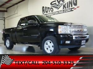 2009 Chevrolet Silverado 1500 LT-Z71 / LOW KMS / Lift / Rubber /