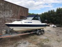 Bayliner sports cruiser boat for sale