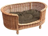****WANTED XL WICKER DOG BED****
