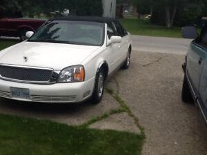 2000 Cadillac Other Black tie Sedan
