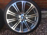 BMW replica alloy wheels & tyres