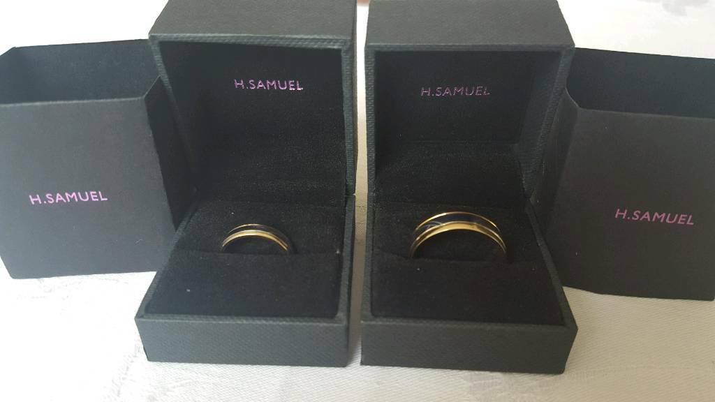 Matching Wedding Ringsin Hartlepool, County DurhamGumtree - Matching wedding rings white and yellow gold. His size Z hers size K. Brand new never worn cost £650 new. Have reciet