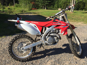 2014 CRF 450X Left Over