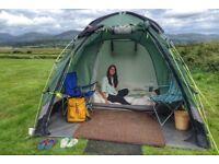 Outwell Arizona L tent (leaky seams)