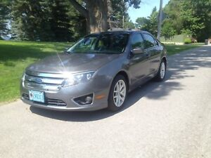 CERTIFIED 2012 Ford Fusion SEL Remote start, Moonroof
