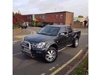 Stunning and in good condition Isuzu Rodeo Denver 4x4 Double priced to sell