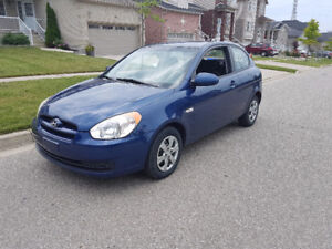 2009 Hyundai Accent safety, e-tested 1 owner car proof rust free