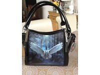 Black Ann Stokes Handbag/Shoulderbag New With Tags 3D