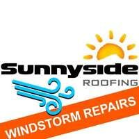 Missing Roof Shingles? (WINDSTORM DAMAGE REPAIRS)