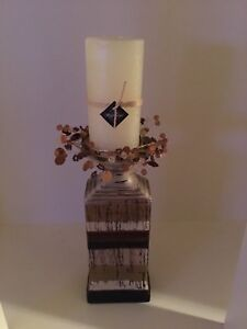Pillar Candle / Holder