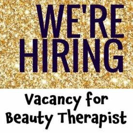Experienced level 3 Beauty Therapist required . Minium of 2-3 years salon expeience required.