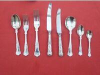 Kings pattern cutlery set