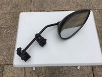 Milenco Towing Mirror - very high quality, aerodynamic, strap free, solid construction