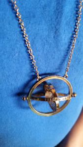 Remaining Time Turner necklace