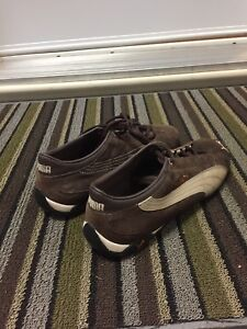 Puma leather and suede shoes