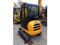 Various diggers and dumpers with driver for hire