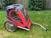 Halfords single bike/ cycle buggy / trailer