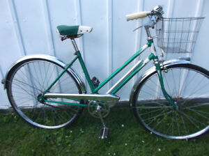 Awesome Ladies Vintage Cruiser with Basket